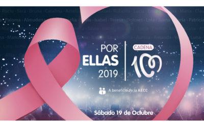 CADENA 100 presenta nueva edición de 'Por Ellas' 2019
