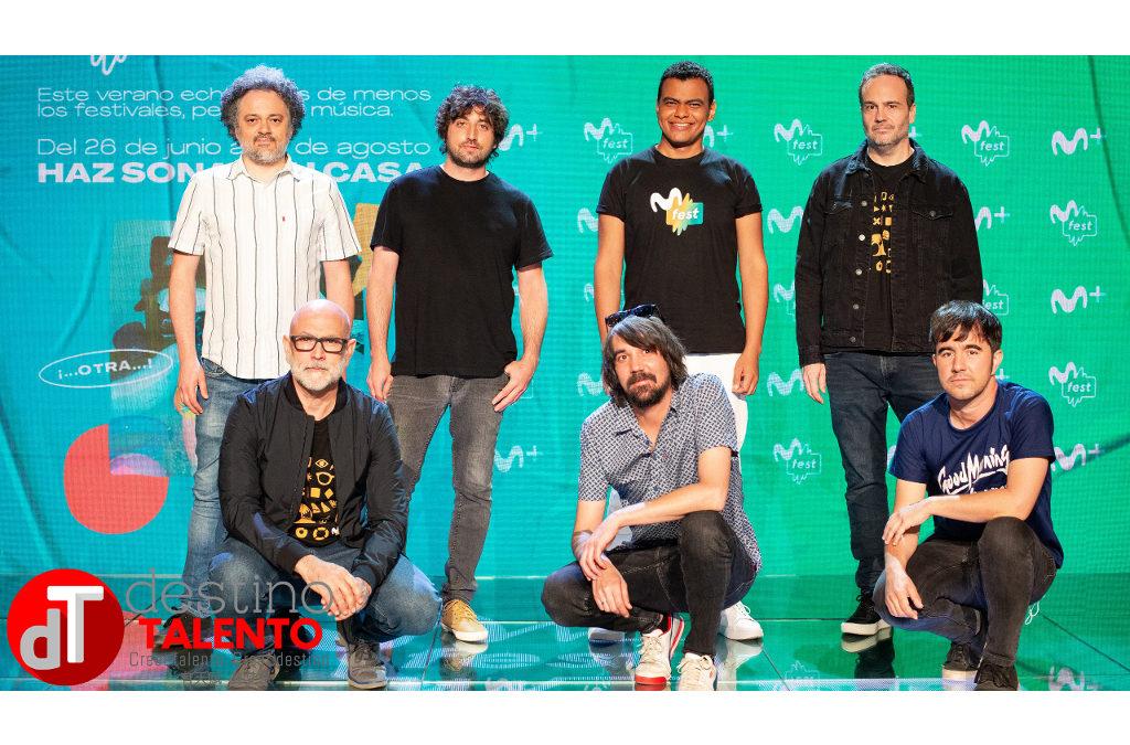 Vivir la música desde casa con Movistar Fest