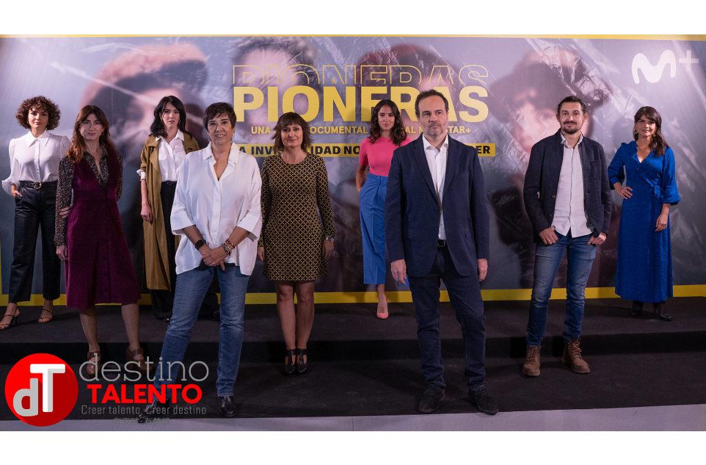 Una vista al pasado y el presente, dando visibilidad a las grandes 'Pioneras' en Movistar+